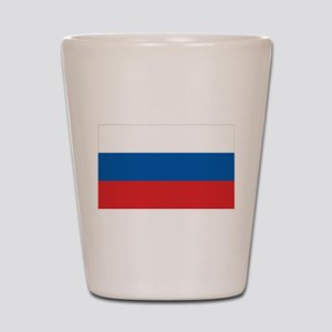 Flag of Russia Shot Glass